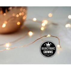 Copper Wire fairy Lights Rustic wedding Decor 13 by ElectricCrowns