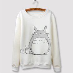 Totoro Long Sleeve Anime Sweatshirt V1