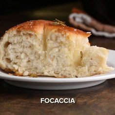 Featuring Focaccia, Sticky Buns and Simple Dinner Rolls Tasty Bread Recipe, Bread Recipes, Cooking Recipes, Vegetarian Recipes, Sticky Buns, Dinner Rolls, Bread Baking, Brunch, Food And Drink