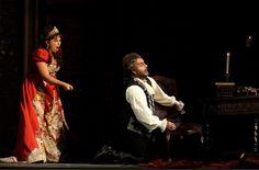 Franz Grundheber und Maria Guleghina als Scarpia und Tosca in Houston 2003 Houston, Concert, Opera, Concerts