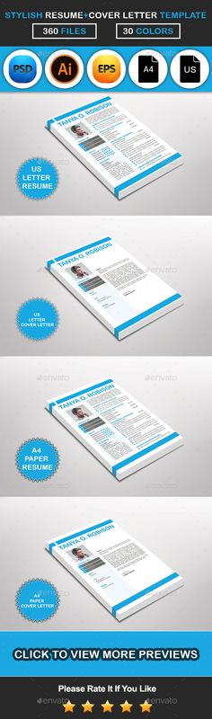 Free Resume template + cover letter template PSD Templates - how to do a cover page for a resume