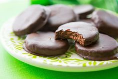 Our healthy version of the girl scout cookie favorite--Thin Mints!