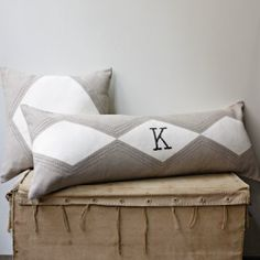 Personalize it!  Make these inspirational personalized items! (image by West Elm)