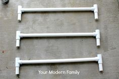 {Solution} DIY gate for bottom of wide staircase (when the staircase it too wide for a normal store-bought gate) Staircase Gate, Staircase Makeover, Staircase Ideas, Pvc Gate, Diy Dog Gate, Baby Room Decor, Modern Family, Dog Fence, Front Porch