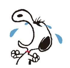 Snoopy Crying GIF