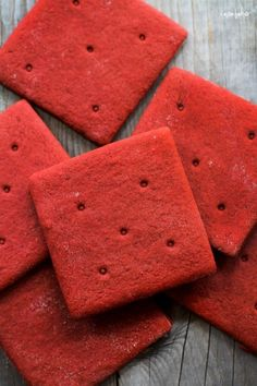 Red Velvet Graham Crackers Ive seen these twice today I must be meant to try them out maybe they are Amazing
