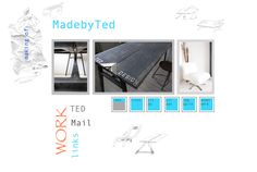 my first steel madebyTed table (well..the second hasn't started yet), like it-;)