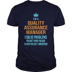 Quality Assurance Manager (QA Manager) - #shirtless #navy sweatshirt. SIMILAR ITEMS => https://www.sunfrog.com/LifeStyle/Quality-Assurance-Manager-QA-Manager-Navy-Blue-Guys.html?60505