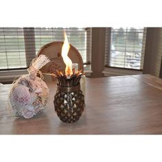 Pineapple Tabletop Torch