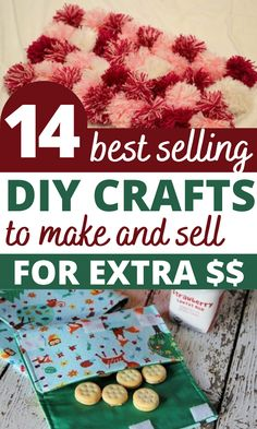 14 Amazing DIY Crafts That Sell Well At Craft Fairs and On Etsy! These fast Homemade Crafts, Easy Diy Crafts, Diy Crafts To Sell, Easy Crafts, Adult Crafts, Diy Projects To Make And Sell, Diy Projects Cans, Crafts For Kids To Make, Mason Jar Crafts