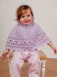 Free Knitting Pattern For Baby Poncho With Hood : 1000+ images about Crochet Ponchos on Pinterest Crochet poncho, Poncho...