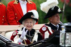 Queen Elizabeth II Photo - Royals Attend Order Of The Garter Service