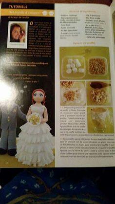 Bride fondant tutorial part 1