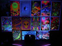 Black Light Bedroom. NEED