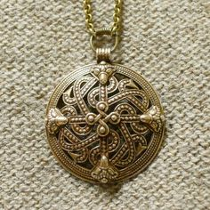 Riipus-38 Pendant from Kalevala Koru jewellery company based on finds from iron age Finland.