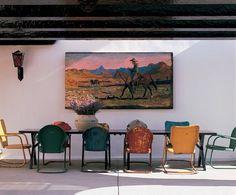 lauradivenereinteriors: Argentinian Design: It's Giddy-up Style - Gauchos and Haciendas!