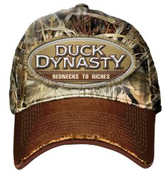 2515b54ca7509 CLUB RED Duck Dynasty Redneck to Riches Baseball Cap Brown   Max 4