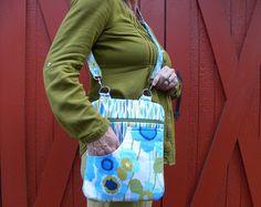 LARGE CROSSBODY BAG, Handbag, Shoulder Bag, Travel Bag, Electronic pad, Bags and Purses, Handmade Bag, Fabric Bag - Edit Listing - Etsy