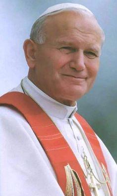 Once Pope, now Saint Catholic Saints, Roman Catholic, Catholic Art, Paul 2, Pope John Paul Ii, Catholic Prayers Daily, Pape Jeans, Papa Juan Pablo Ii, Papa Francisco
