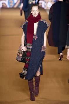 Etro Fall 2014 Ready-to-Wear Runway - Etro Ready-to-Wear Collection