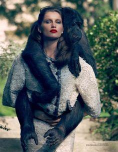 Laetitia Casta - Dolce & Gabbana - Vogue