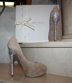 blinged out Jimmy Choos..YES