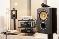 High end audio audiophile McIntosh B&W