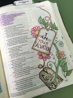 #bible journaling #Psalm 35:1-3