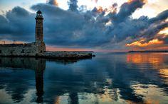 Lighthouse Sea wallpaper