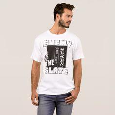 Enemy Of The Slate Darts Shirt