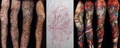 fantasy full sleeve tattoo - Google keresés