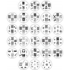 "2013 ""Create Your Own"" Nail Stamping Plate Collection"