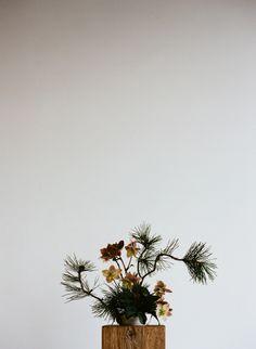 Riley Messina and Erba Floral Studio Ikebana: Photo by P. H. Fiztgerald