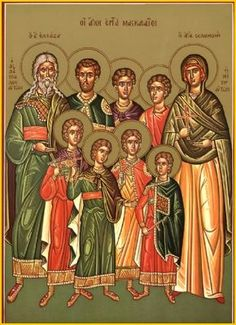 7 Holy Maccabee Martyrs After all her seven children had died, St. Solomonia stood over their bodies, raised up her hands in prayer to God and died.The martyric death of the Maccabee brothers inspired Judas Maccabeus, he led a revolt against King Antiochus. With God's help, he was victorious, then purified the Temple at Jerusalem. He also destroyed the altars which the pagans had set up in the streets. 2Maccabees 8-10.Many Church Fathers preached on the seven Maccabees: StCyprian of…