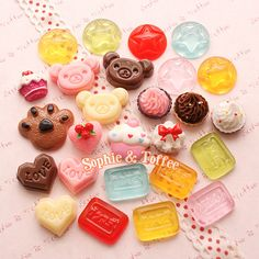 So Cute Cupcakes and Sweets Cabochons! | por Sophie & Toffee
