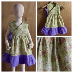 Easter is fast approaching!  This 3t Wrap Dress is super cute for the holiday!