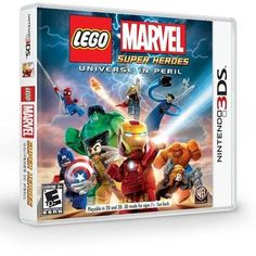 LEGO Marvel Super Heroes 3DS @ niftywarehouse.com