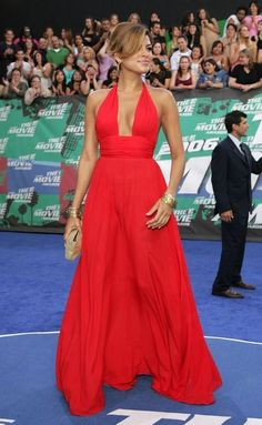 eva mendes MTV movie awards Plus Red Dress Outfit, Dress Outfits, Dress Up, Sexy Dresses, Nice Dresses, Mtv Movie Awards, Pippa Middleton, Costume, Night Outfits