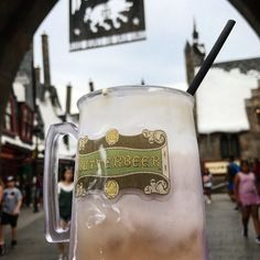 Frozen Butterbeer recipe from the Wizarding World of Harry Potter