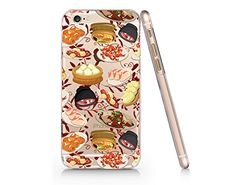 """Cute food China Food , Dimsum "" Quotes Slim Iphone 6 6S Case, Text Clear Iphone 6 6S Hard Cover Case For Apple Iphone 6/6S -Emerishop (ip6) Emerishop"