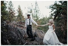 Moody Fall Styled Shoot by Jolie Vue Photography | Apple Brides
