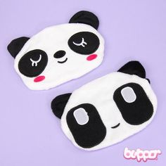 Smiling Panda Mouth Mask