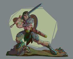 barbarian revenge | revenge of the barbarians