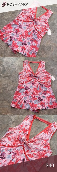 New free people grapefruit Santiago romper dress New with tag free people grapefruit romper size med, sheer piping lace detail pink, white, blue, purple. Bow tie front flowy dress look. Best for sizes med and large Free People Dresses