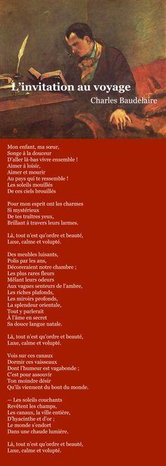 Baudelaire – L'invitation au voyage | À la française …