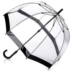 Fulton Black Birdcage Bubble Umbrella