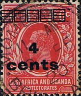 British East Africa and Uganda 1912 King George V Overprint SG 64 Fine Used Scott 62 Other KUT Stamps HERE