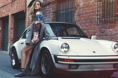The Blonde Salad / Chiara Ferragni f/w 2014 campaign // The Blonde Salad, Porsche Club, Porsche 911, Porsche Carrera, Chiara Ferragni Shoes, Porsche Models, Vintage Porsche, Cool Sports Cars, Fall Winter 2014