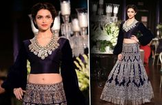 Make your fresh appearance and look unique in the crowd with the dazzling #LehengaCholi straight out from celebrity closet outlet and is flaunted by lovely #Deepika #Padukone. #Lashkaraa.com #Lehenga #Lehengas #designerlehenga #lehengaonline #bridallehenga