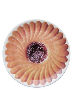 Biscuit Plate. Crumbs!